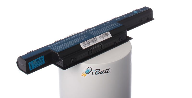 Аккумуляторная батарея для ноутбука Acer Aspire 7551-P364G50Mn. Артикул iB-A217.Емкость (mAh): 4400. Напряжение (V): 11,1