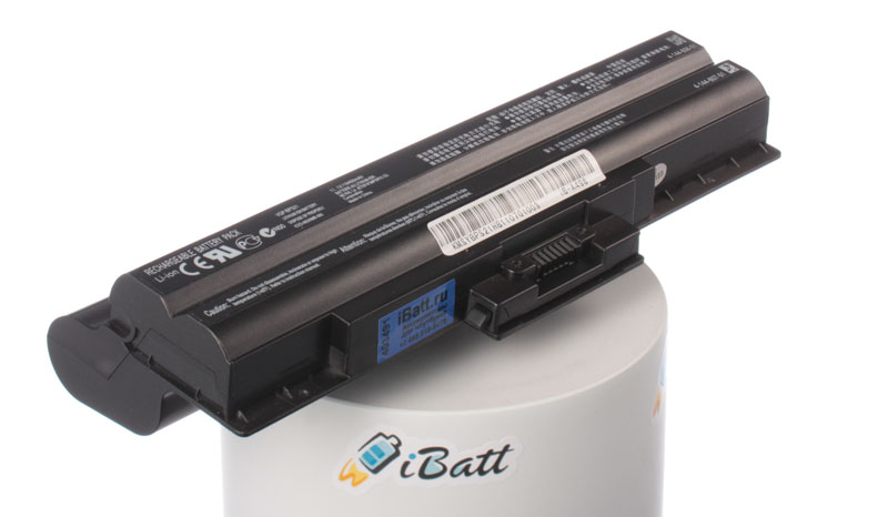 Аккумуляторная батарея VGP-BPS13B для ноутбуков Sony. Артикул iB-A498.Емкость (mAh): 8800. Напряжение (V): 11,1