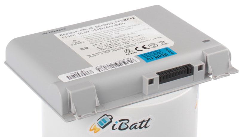 Аккумуляторная батарея для ноутбука Fujitsu-Siemens FMV-Biblo NE9/1000. Артикул iB-A230.Емкость (mAh): 3500. Напряжение (V): 10,8