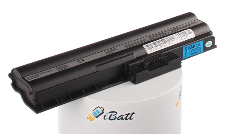 Аккумуляторная батарея iBatt iB-A591H для ноутбука SonyЕмкость (mAh): 5200. Напряжение (V): 11,1