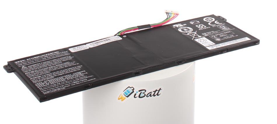 Аккумуляторная батарея для ноутбука Acer Aspire  V3-372. Артикул iB-A911.Емкость (mAh): 3000. Напряжение (V): 15,2