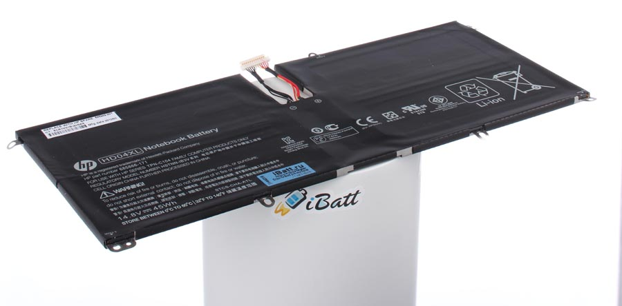 Аккумуляторная батарея HD04XL для ноутбуков HP-Compaq. Артикул iB-A623.Емкость (mAh): 3040. Напряжение (V): 14,8