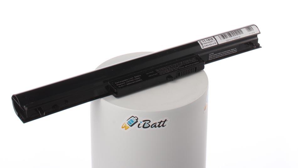 Аккумуляторная батарея iBatt 11-1416 для ноутбука HP-CompaqЕмкость (mAh): 2200. Напряжение (V): 14,4