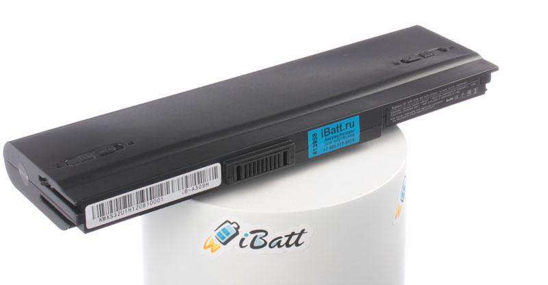 Аккумуляторная батарея для ноутбука Asus U2E. Артикул iB-A309H.Емкость (mAh): 7800. Напряжение (V): 11,1