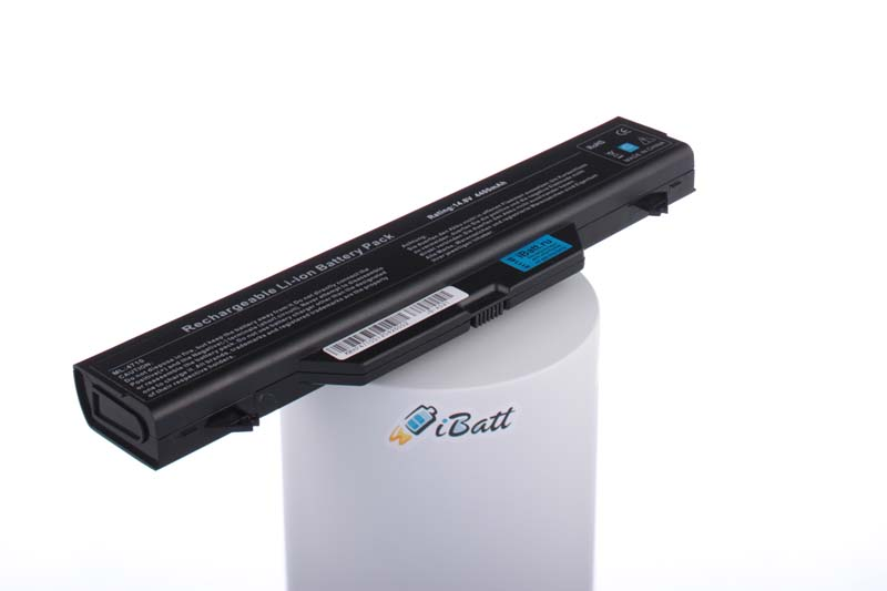 Аккумуляторная батарея для ноутбука HP-Compaq ProBook 4510s (NX417EA). Артикул iB-A521.Емкость (mAh): 4400. Напряжение (V): 14,8