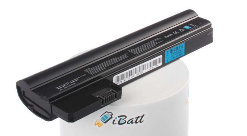 Аккумуляторная батарея для ноутбука HP-Compaq Mini CQ10-850sr. Артикул iB-A377H.Емкость (mAh): 5200. Напряжение (V): 11,1
