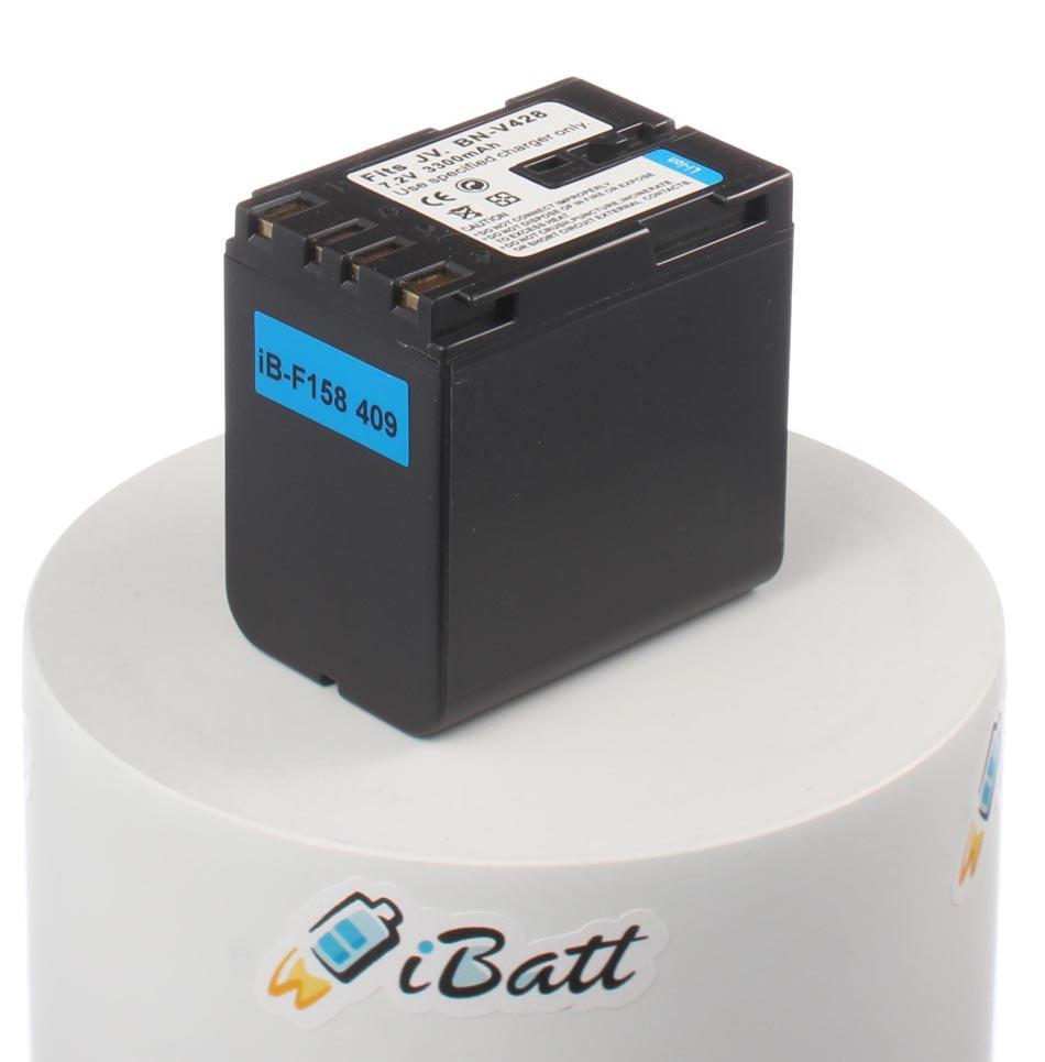 Аккумуляторная батарея iBatt для фотокамеры JVC GR-DV500E. Артикул iB-F158, JVC