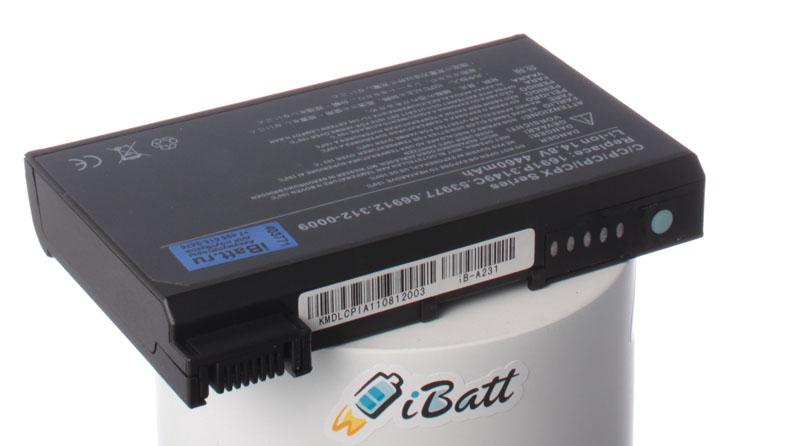Аккумуляторная батарея iBatt iB-A231 для ноутбука DellЕмкость (mAh): 4460. Напряжение (V): 14,8