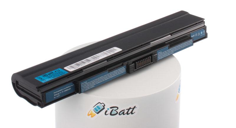 Аккумуляторная батарея для ноутбука Acer Aspire 1830TZ-U562G25iki TimelineX. Артикул iB-A146.Емкость (mAh): 4400. Напряжение (V): 11,1
