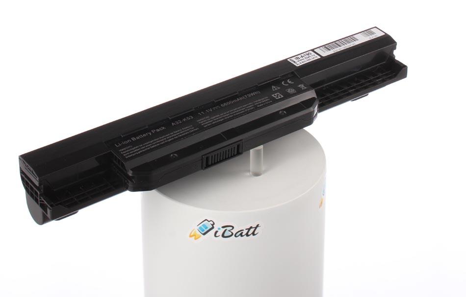 Аккумуляторная батарея A32-K53 для ноутбуков Asus. Артикул iB-A190.Емкость (mAh): 6600. Напряжение (V): 10,8