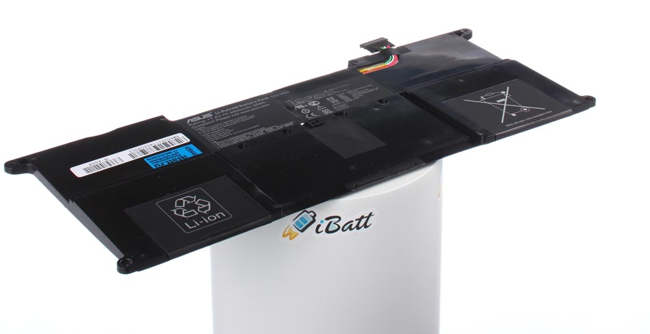 Аккумуляторная батарея iBatt iB-A668 для ноутбука AsusЕмкость (mAh): 4500. Напряжение (V): 7,4