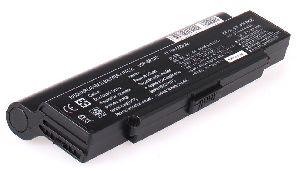 Аккумуляторная батарея VGP-BPL2 для ноутбуков Sony. Артикул 11-1415.Емкость (mAh): 6600. Напряжение (V): 11,1
