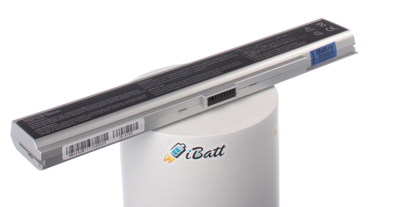 Аккумуляторная батарея для ноутбука Asus W1G. Артикул iB-A185.Емкость (mAh): 4400. Напряжение (V): 14,8