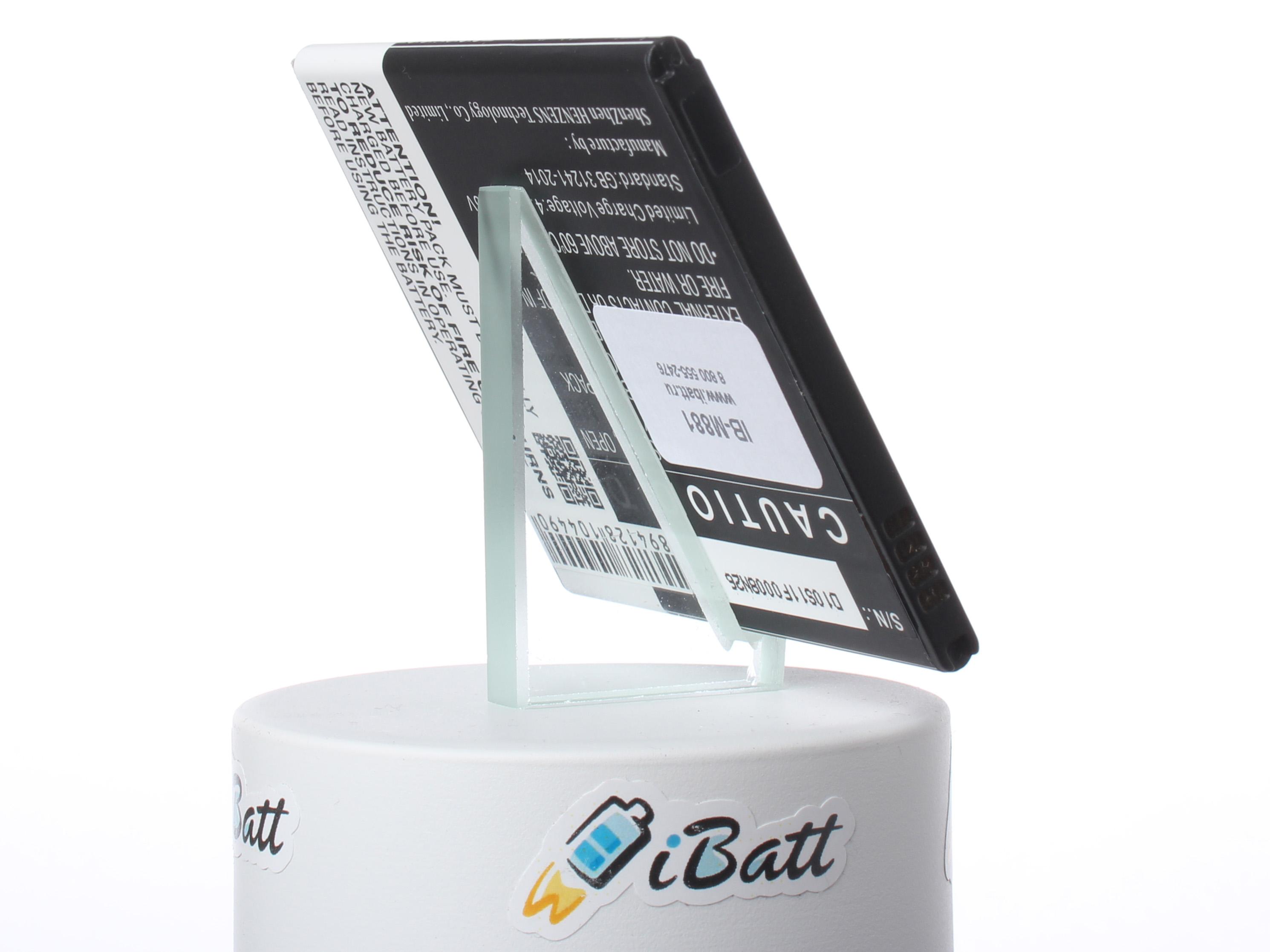 Аккумуляторная батарея для телефона, смартфона Samsung SM-J701F. Артикул iB-M881.Емкость (mAh): 3000. Напряжение (V): 3,85