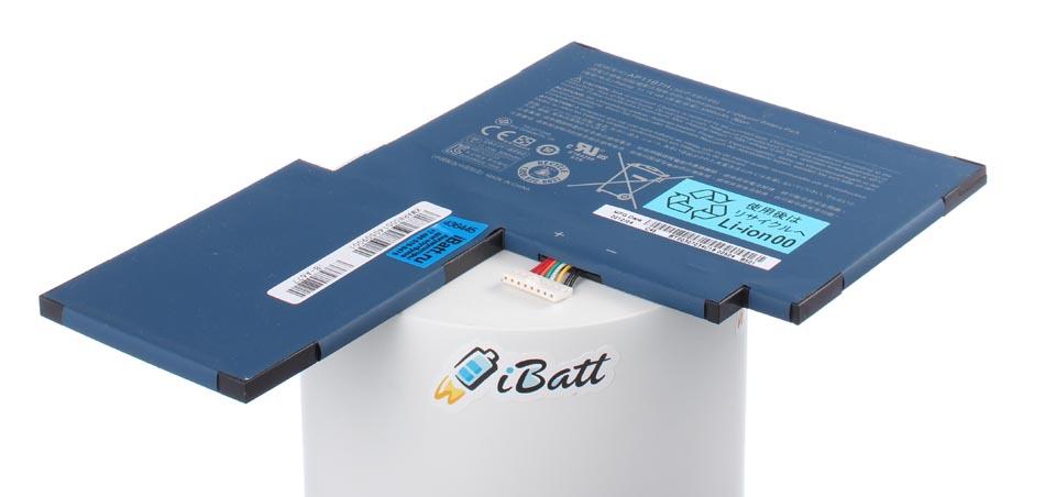 Аккумуляторная батарея AP11B7H для ноутбуков Acer. Артикул iB-A677.Емкость (mAh): 3250. Напряжение (V): 11,1