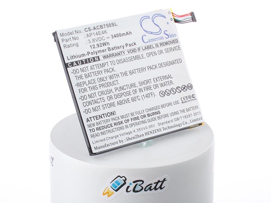 Аккумуляторная батарея 1ICP4/86/94 для ноутбуков Acer. Артикул iB-A1088.Емкость (mAh): 3400. Напряжение (V): 3,8