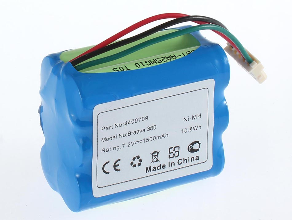Аккумуляторная батарея GPRHC202N026 для пылесосов Mint. Артикул iB-T924.Емкость (mAh): 1500. Напряжение (V): 7,2