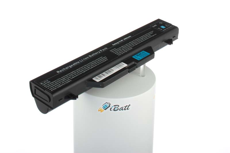 Аккумуляторная батарея для ноутбука HP-Compaq ProBook 4510s (NX410EA). Артикул iB-A522.Емкость (mAh): 6600. Напряжение (V): 14,8
