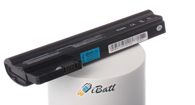 Аккумуляторная батарея для ноутбука HP-Compaq Mini CQ10-850sr. Артикул iB-A377.Емкость (mAh): 4400. Напряжение (V): 11,1
