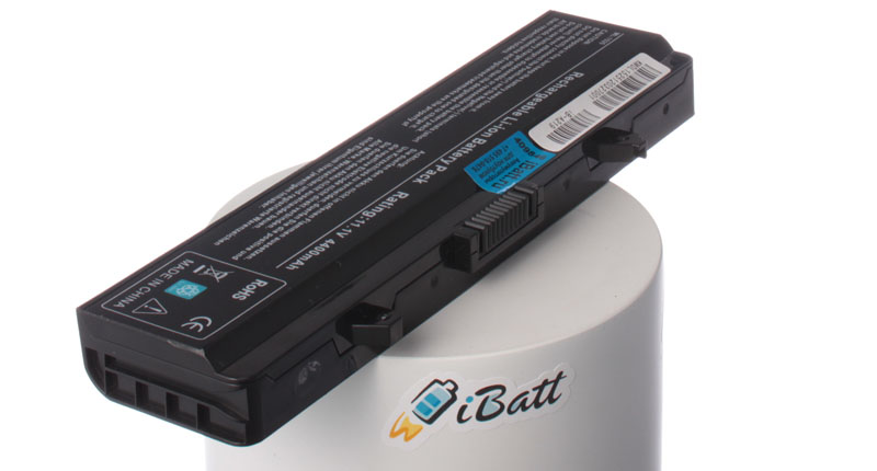 Аккумуляторная батарея WK379 для ноутбуков Dell. Артикул iB-A219.Емкость (mAh): 4400. Напряжение (V): 11,1