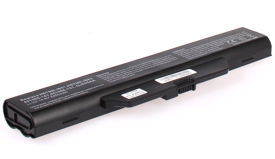 Аккумуляторная батарея HSTNN-IB51 для ноутбуков HP-Compaq. Артикул 11-1314.Емкость (mAh): 4400. Напряжение (V): 11,1