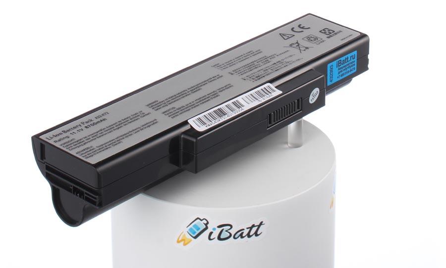 Аккумуляторная батарея CS-AUK72NB для ноутбуков Asus. Артикул iB-A164X.Емкость (mAh): 8700. Напряжение (V): 11,1