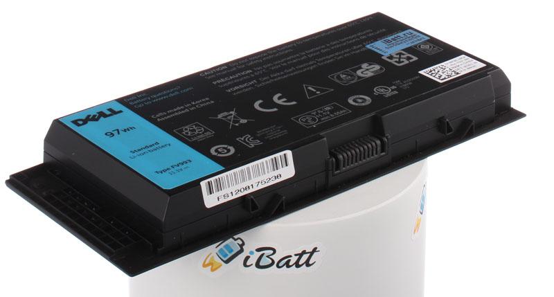 Аккумуляторная батарея FV993 для ноутбуков Dell. Артикул iB-A292.Емкость (mAh): 8735. Напряжение (V): 11,1