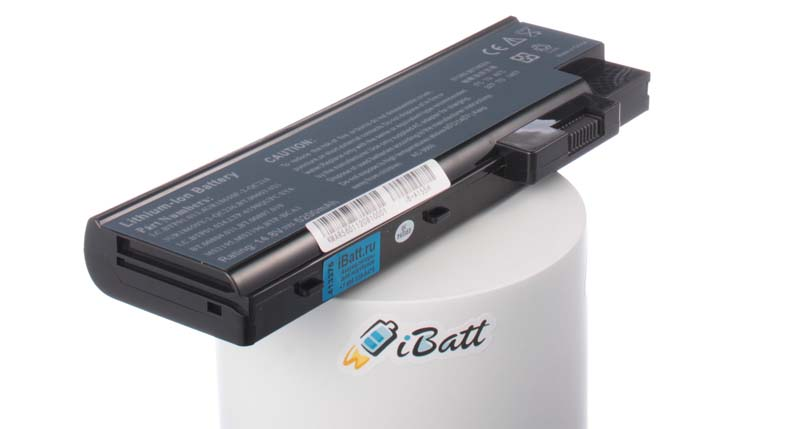 Аккумуляторная батарея для ноутбука Acer TravelMate 5100. Артикул iB-A155H.Емкость (mAh): 5200. Напряжение (V): 14,8