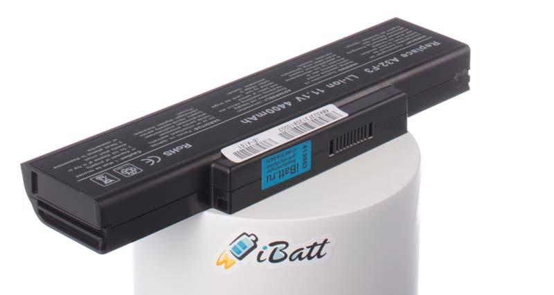 Аккумуляторная батарея для ноутбука Asus F3JV. Артикул iB-A161.Емкость (mAh): 4400. Напряжение (V): 11,1