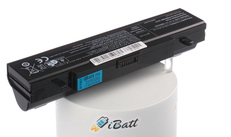 Аккумуляторная батарея AA-PB9NC5B для ноутбуков Samsung. Артикул iB-A395.Емкость (mAh): 6600. Напряжение (V): 11,1