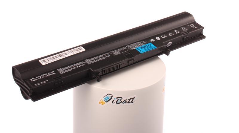 Аккумуляторная батарея A41-U36 для ноутбуков Asus. Артикул iB-A409H.Емкость (mAh): 5200. Напряжение (V): 14,8
