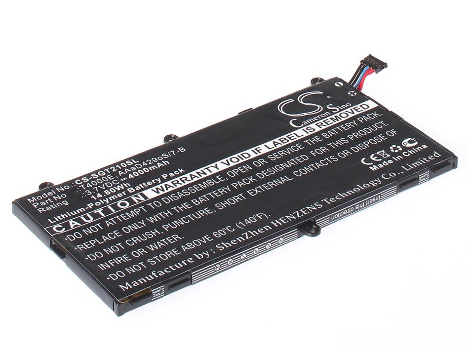 Аккумуляторная батарея для ноутбука Samsung Galaxy Tab 3 7.0 SM-T211. Артикул iB-A1287.Емкость (mAh): 4000. Напряжение (V): 3,7