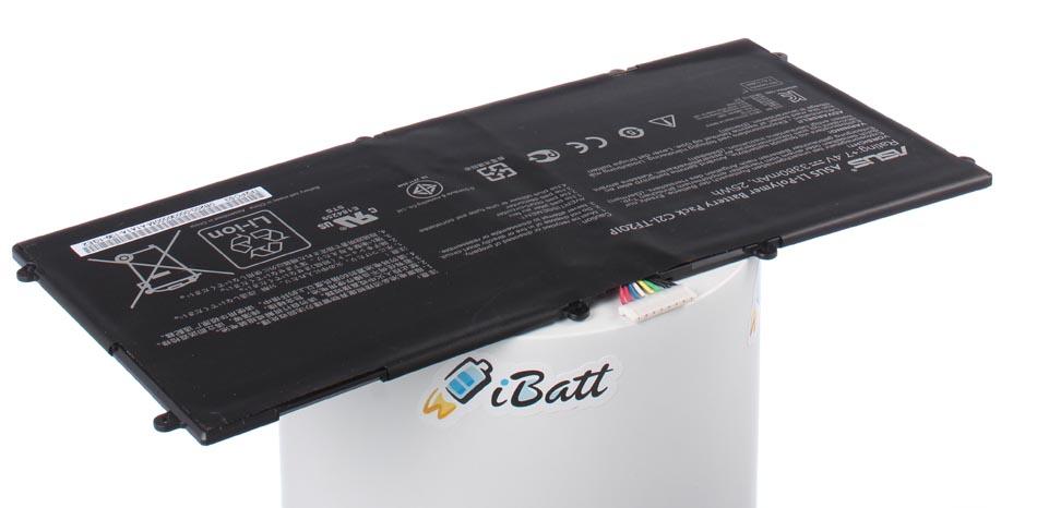Аккумуляторная батарея iBatt iB-A658 для ноутбука AsusЕмкость (mAh): 3380. Напряжение (V): 7,4