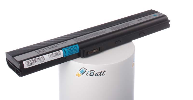 Аккумуляторная батарея A32-K52 для ноутбуков Asus. Артикул iB-A132.Емкость (mAh): 4400. Напряжение (V): 10,8