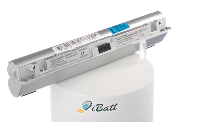 Аккумуляторная батарея VGP-BPL18 для ноутбуков Sony. Артикул iB-A586.Емкость (mAh): 4400. Напряжение (V): 11,1