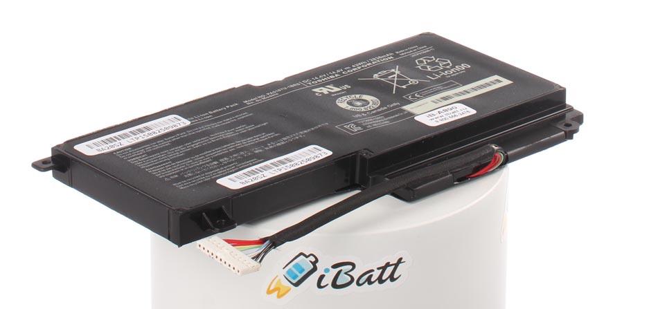 Аккумуляторная батарея CS-TOL550NB для ноутбуков Toshiba. Артикул iB-A890.Емкость (mAh): 2830. Напряжение (V): 14,4