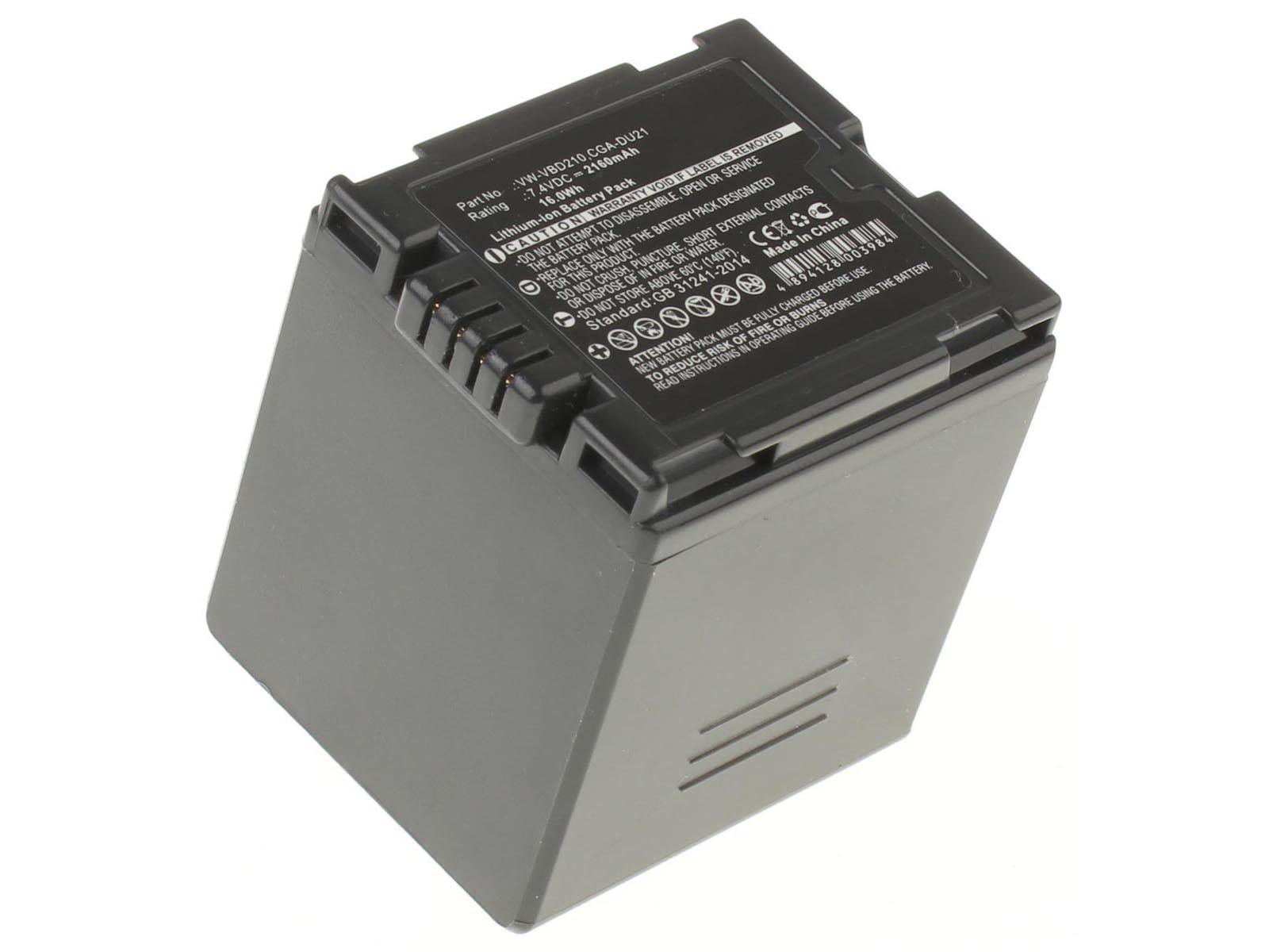 Аккумуляторные батареи для фотоаппаратов и видеокамер Panasonic SDR-H20Емкость (mAh): 2160. Напряжение (V): 7,2