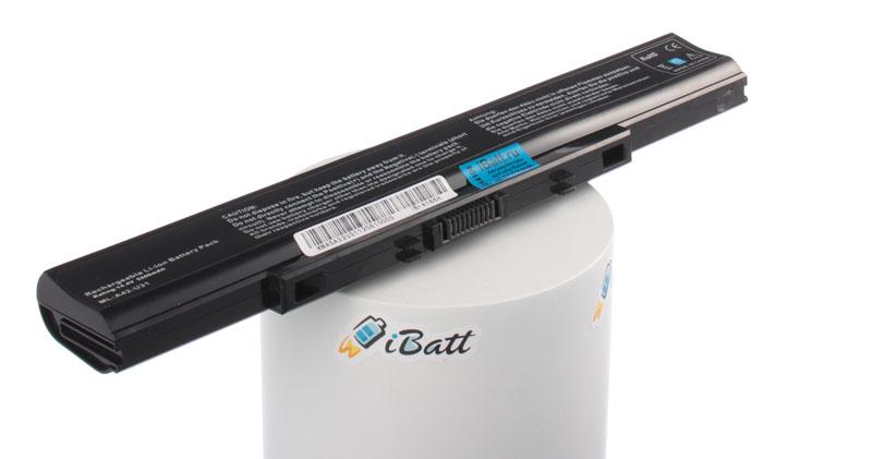 Аккумуляторная батарея для ноутбука Asus U31SD. Артикул iB-A186H.Емкость (mAh): 5200. Напряжение (V): 14,4