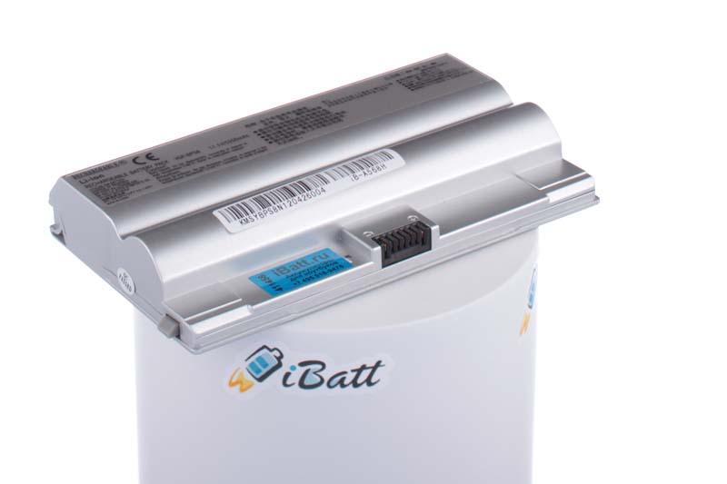Аккумуляторная батарея VGP-BPL8 для ноутбуков Sony. Артикул iB-A568H.Емкость (mAh): 5200. Напряжение (V): 11,1
