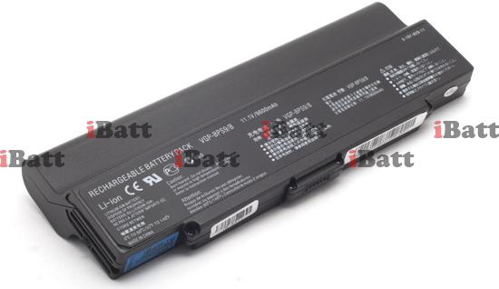 Аккумуляторная батарея iBatt iB-A477 для ноутбука SonyЕмкость (mAh): 8800. Напряжение (V): 11,1