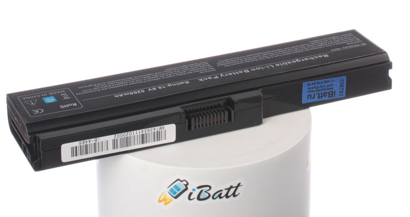Аккумуляторная батарея PA3636U-1BAL для ноутбуков Toshiba. Артикул iB-A486.Емкость (mAh): 4400. Напряжение (V): 10,8