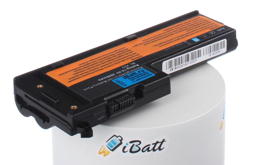 Аккумуляторная батарея 40Y7904 для ноутбуков IBM-Lenovo. Артикул iB-A330H.Емкость (mAh): 2600. Напряжение (V): 14,8