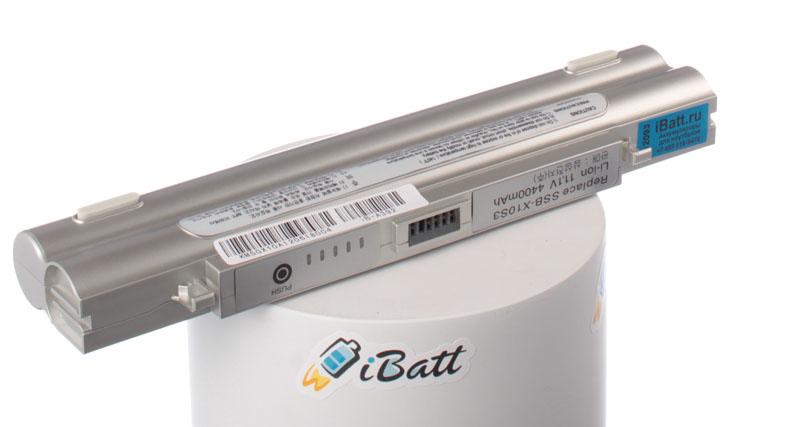 Аккумуляторная батарея SSB-X10LS3/C для ноутбуков Samsung. Артикул iB-A392.Емкость (mAh): 4400. Напряжение (V): 11,1