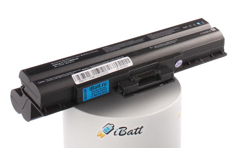 Аккумуляторная батарея iBatt iB-A595X для ноутбука SonyЕмкость (mAh): 11600. Напряжение (V): 11,1