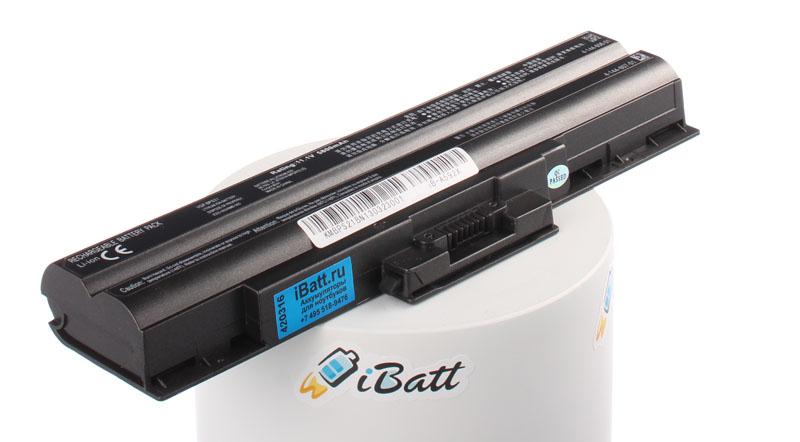 Аккумуляторная батарея CLD5123S.806 для ноутбуков Sony. Артикул iB-A592X.Емкость (mAh): 5800. Напряжение (V): 11,1