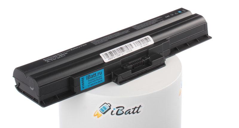 Аккумуляторная батарея iBatt iB-A583 для ноутбука SonyЕмкость (mAh): 4400. Напряжение (V): 11,1