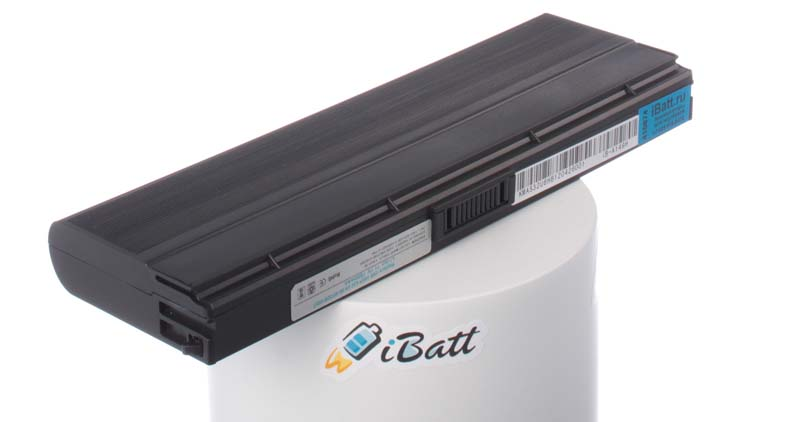 Аккумуляторная батарея для ноутбука Asus N20A. Артикул iB-A149H.Емкость (mAh): 7800. Напряжение (V): 11,1