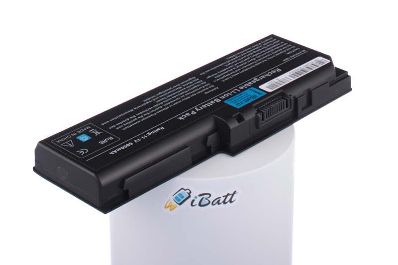 Аккумуляторная батарея PA3536U-1BAS для ноутбуков Toshiba. Артикул iB-A542.Емкость (mAh): 6600. Напряжение (V): 11,1