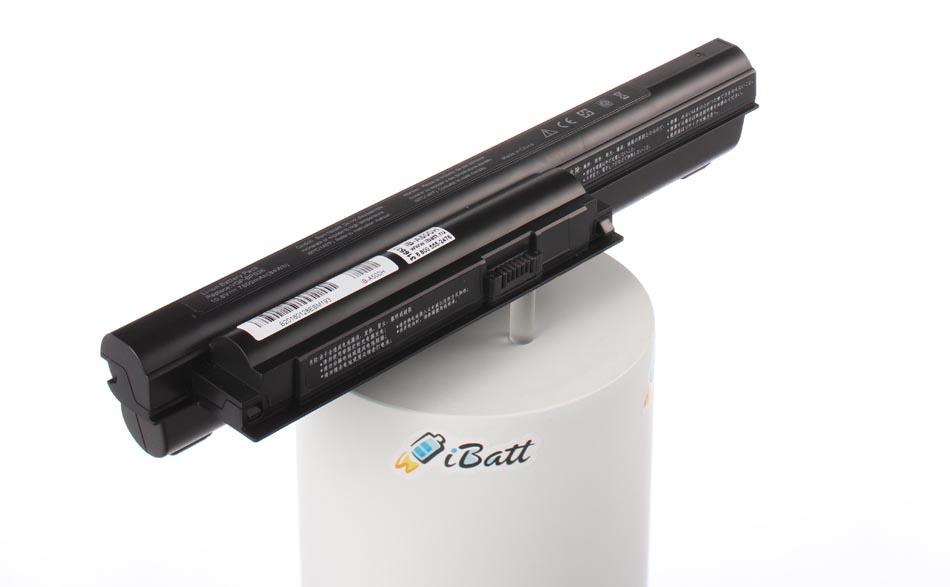 Аккумуляторная батарея iBatt iB-A500H для ноутбука SonyЕмкость (mAh): 7800. Напряжение (V): 11,1
