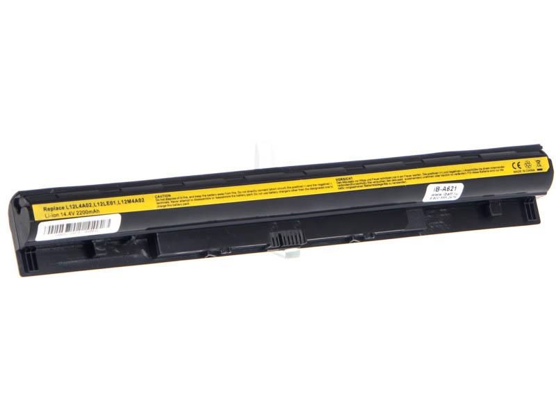 Аккумуляторная батарея L12M4A02 для ноутбуков IBM-Lenovo. Артикул iB-A621.Емкость (mAh): 2200. Напряжение (V): 14,4